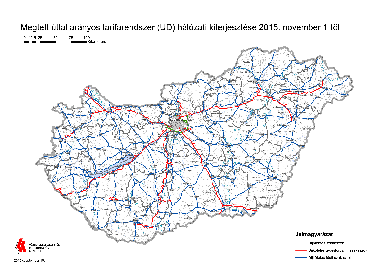 útdíj térkép magyarország E útdíj   OBU Easy   Flotta   Információk útdíj térkép magyarország